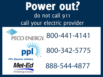 Power Outage Numbers